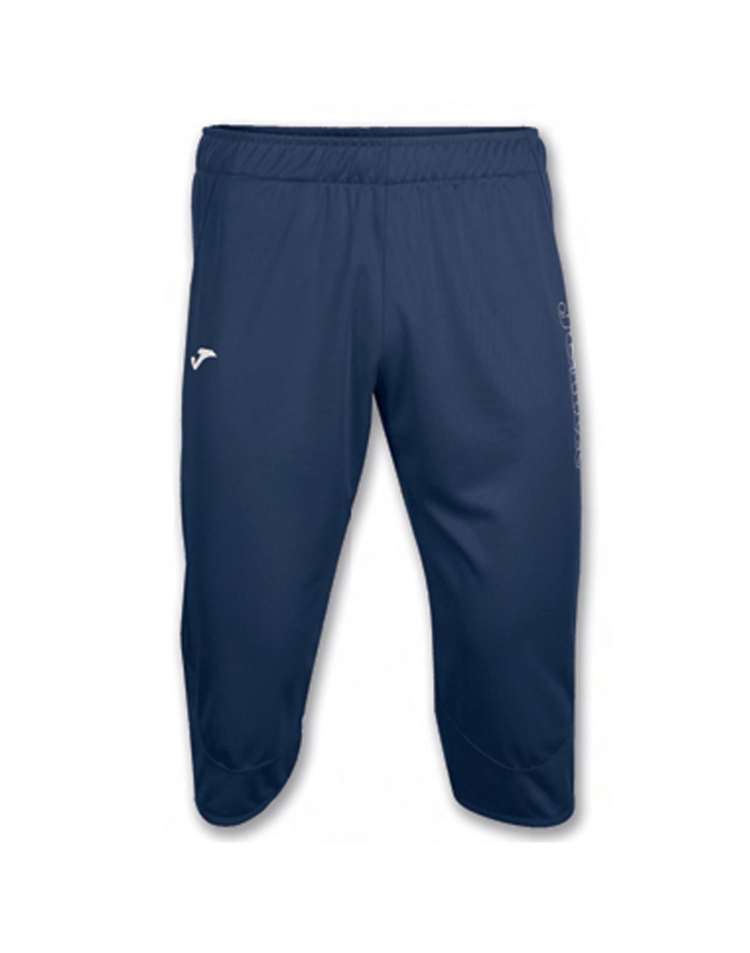 JOMA Pantalone Pirata Interlok 3/4 (6XS - BLU NAVY)