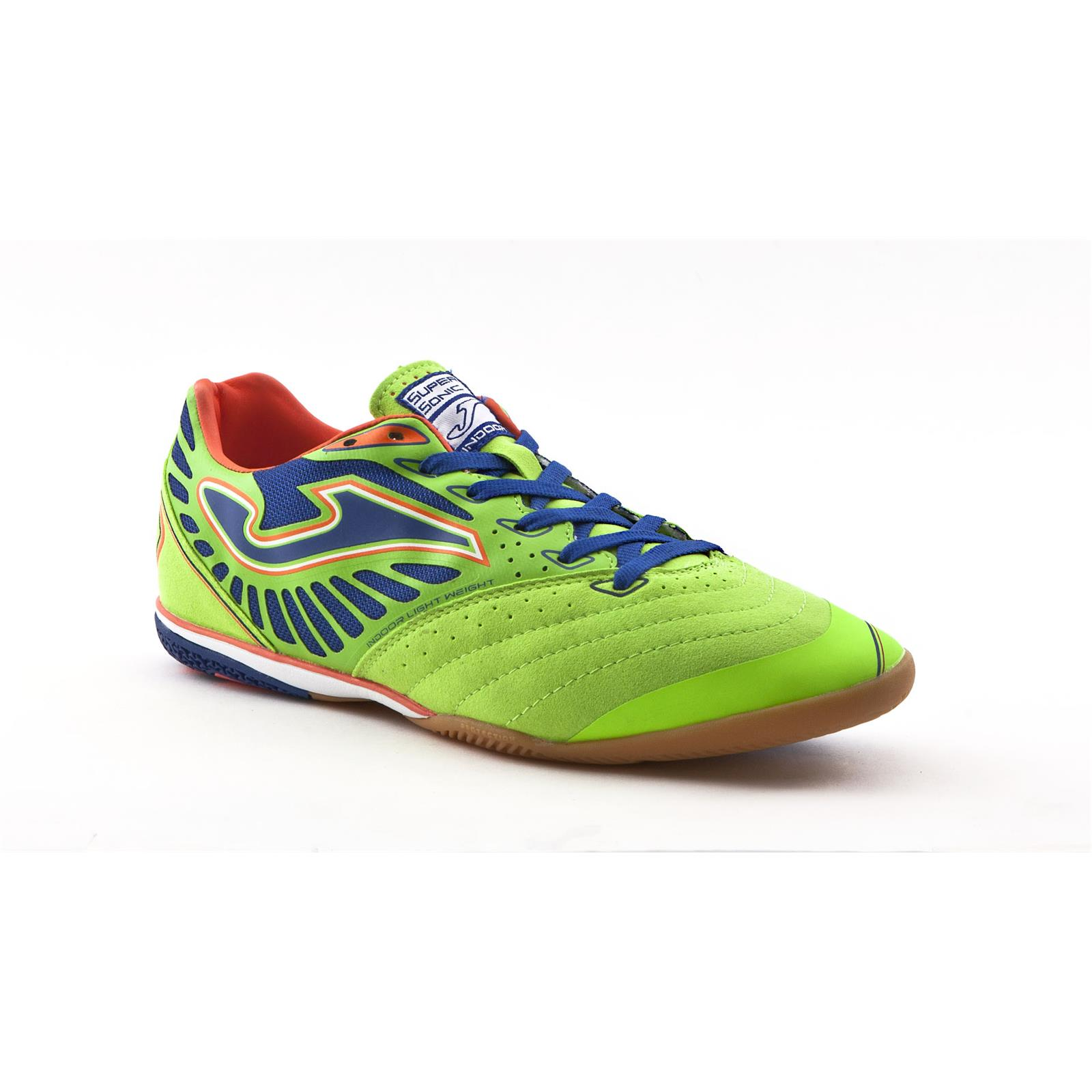 JOMA Scarpa calcetto sala Supersonic 411 (43.5 - VERDE)