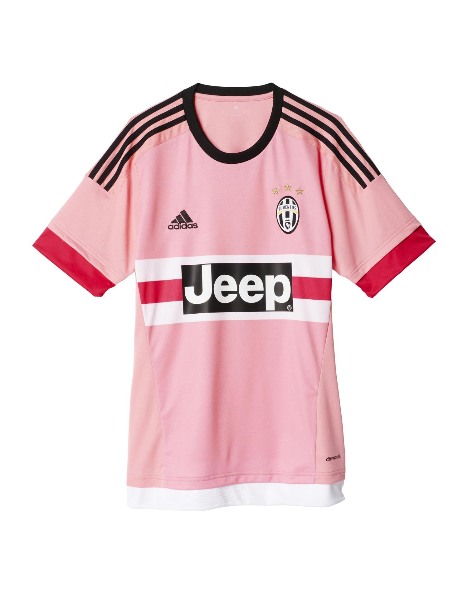 ADIDAS Maglia Away Replica Player Juventus (L - ROSA)