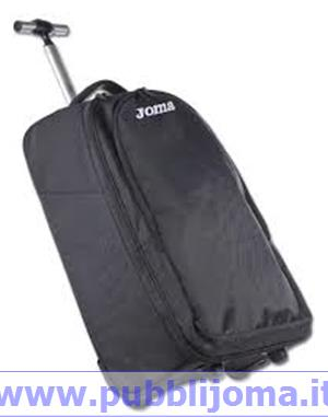 JOMA Borsa Trolley Fly Staff (54x21x37 cm - NERO)