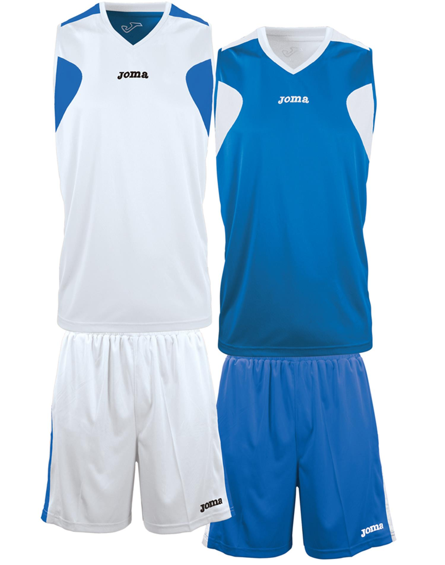 JOMA Completo Reversible (3XL-4XL - BIANCO - ROYAL)