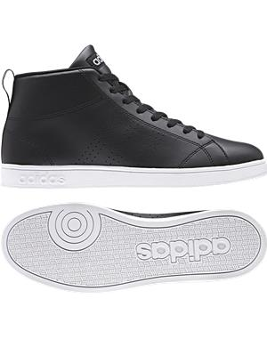 ADIDAS Scarpe Advantage Clean Mid (38 - NERO)