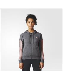 ADIDAS Felpa con Cappuccio Essentials 3-Stripes