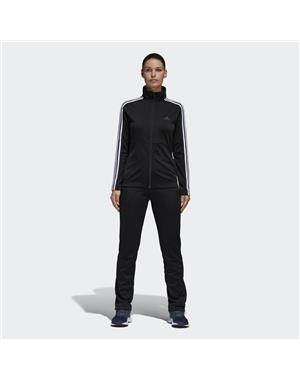ADIDAS Tuta Donna Back 2 Basics 3-Stripes (S - NERO - BIANCO)