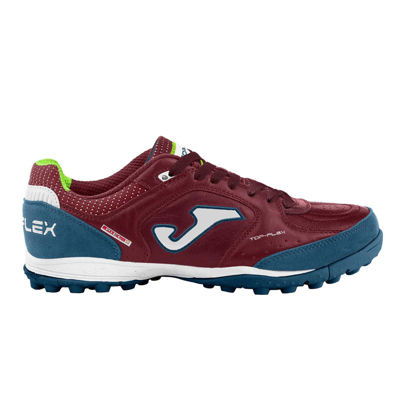 JOMA Scarpa calcio a 5 Top Flex 2020 Turf (38 - BORDEAUX - MARINO)