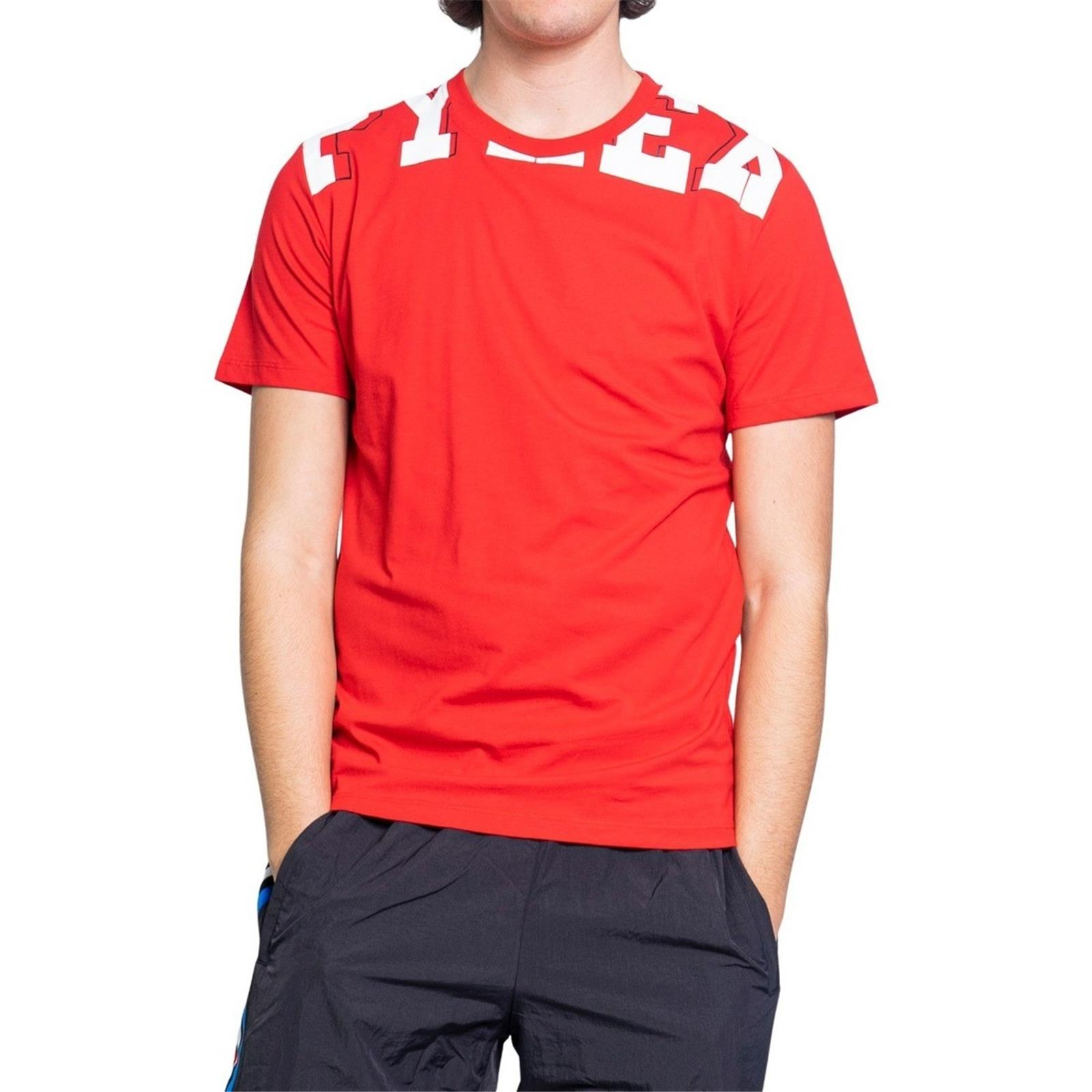 PYREX T-shirt uomo in jersey 100% cotone (L - ROSSO)